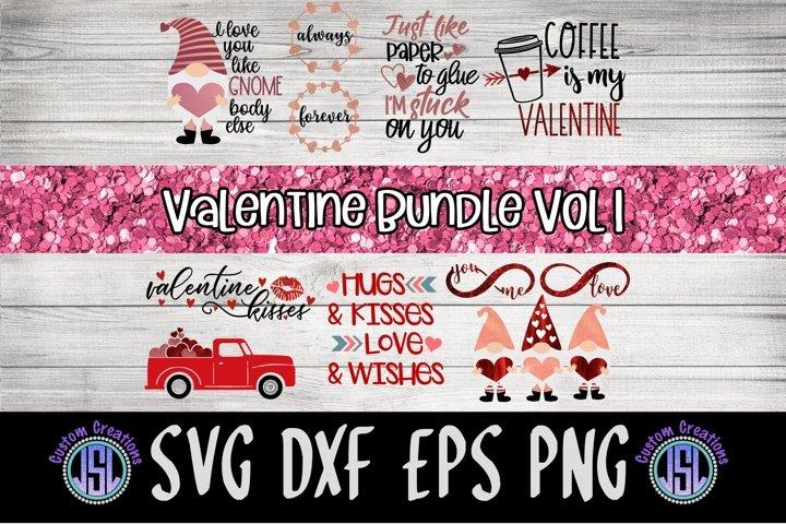 Valentine Bundle Vol 1   Set of 11   SVG DXF EPS PNG PDF