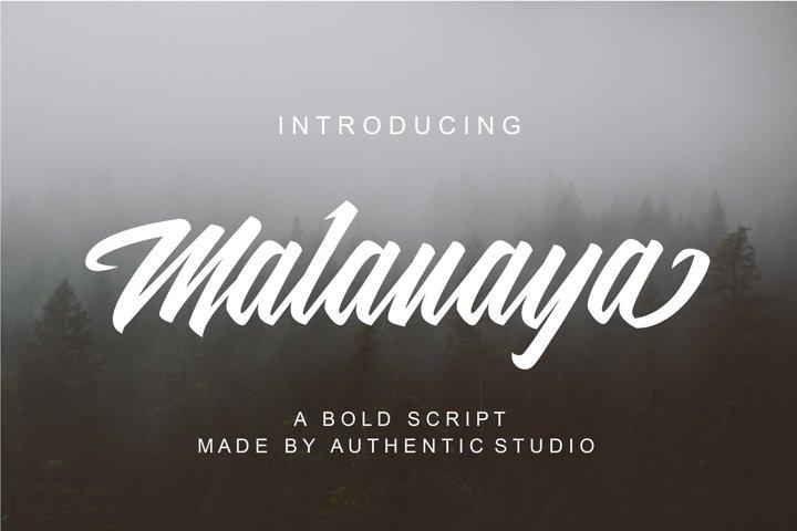 Malanaya Script