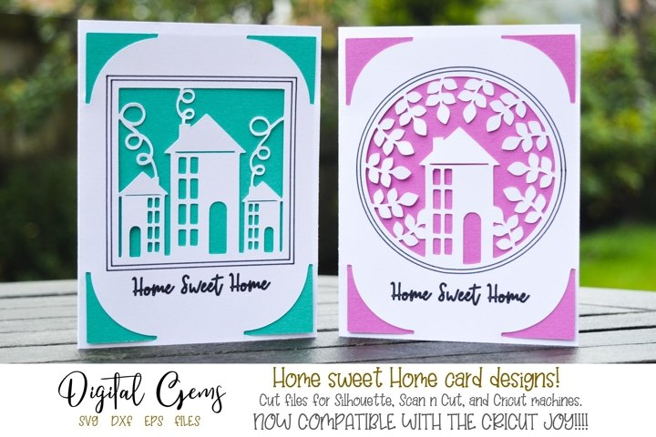 Home Sweet Home cards! Now Cricut Joy ready!