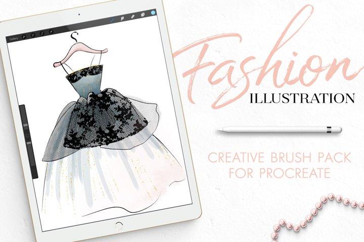 Fashion Illustration Brushes for Procreate