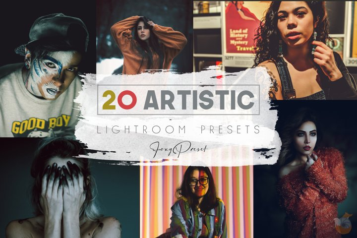 20 Artistic Mobile & Desktop Lightroom Presets