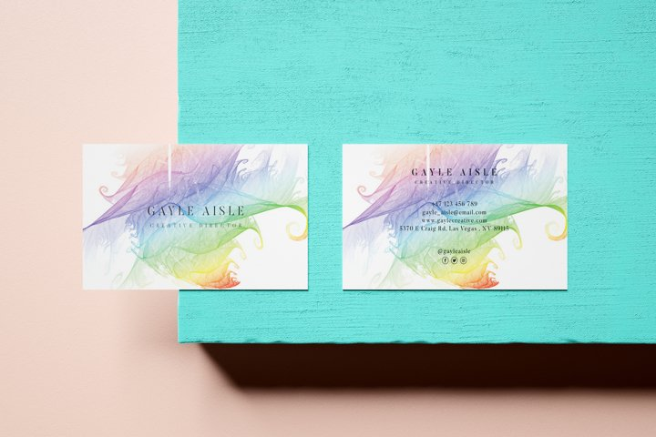 Brushes Business Card - Vol.19
