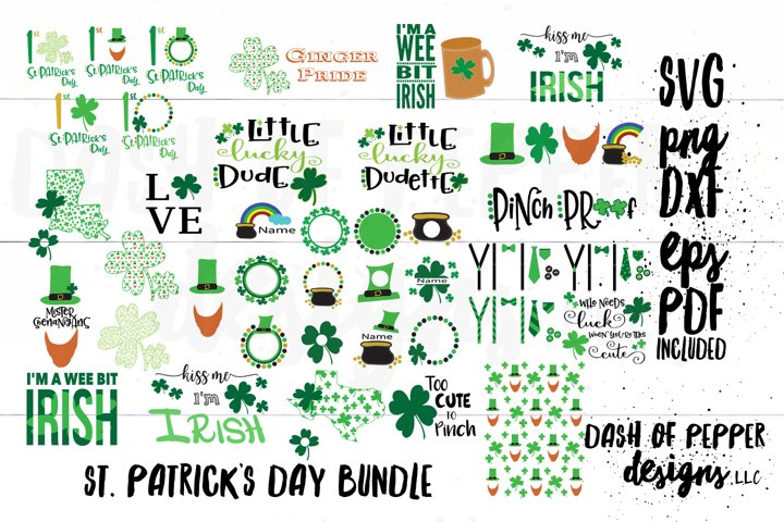 St Patricks Day Bundle SVG - A St Patricks Day SVG