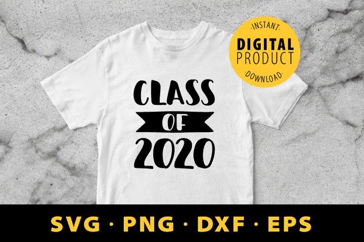 Class of 2020 SVG. Graduation SVG. Graduation 2020 SVG.
