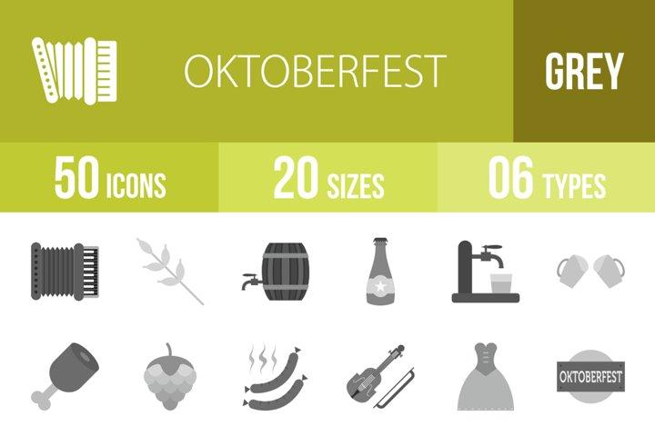 Download 50 Oktoberfest Greyscale Icons 279310 Icons Design Bundles