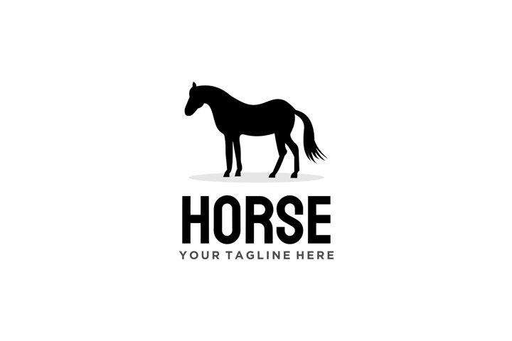 Simple Horse logo