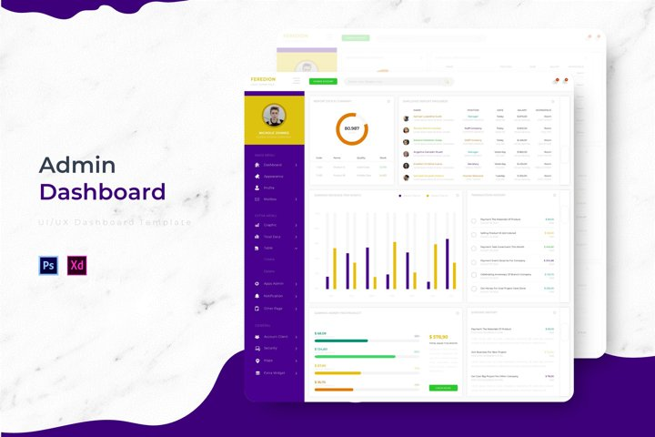 Feredion Dashboard | Admin Template
