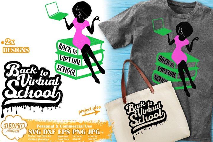 Black Woman SVG | Back To School SVG | Black Teacher SVG