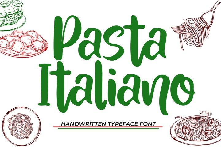 Pasta Italiano - Typeface