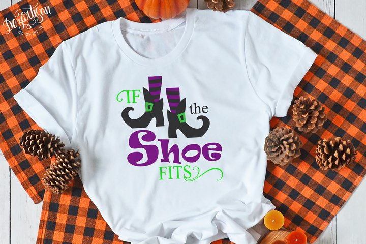 Halloween if the shoe fits SVG Cut File