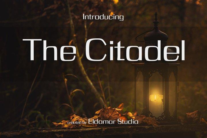The Citadel Font
