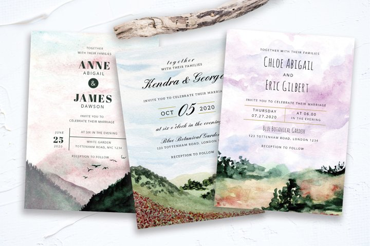 Landscape Wedding Collection