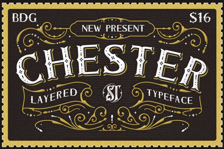 Chester Typeface