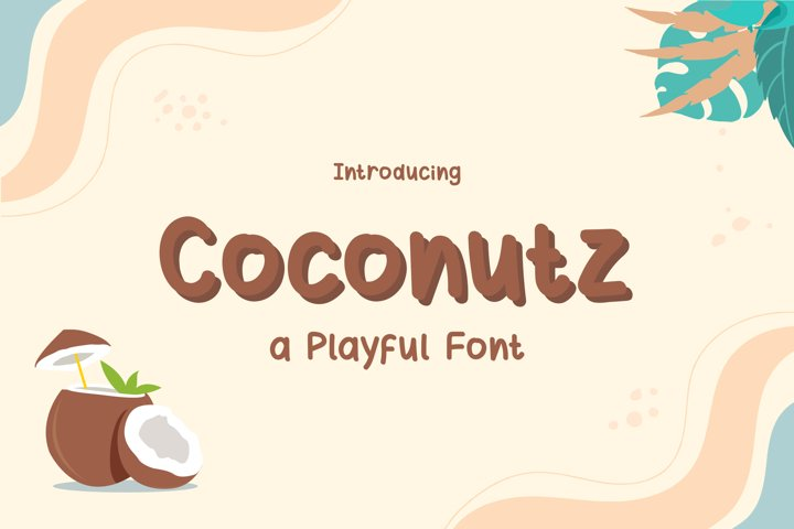 Coconutz - Playful Font