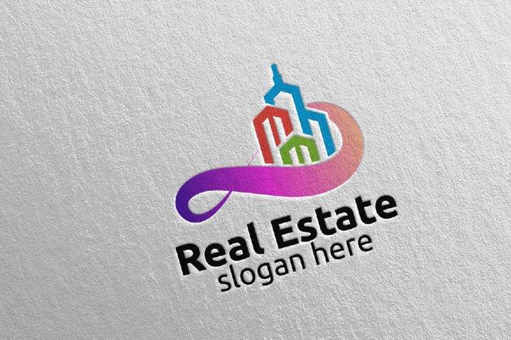 Real Estate Infinity Logo Design 38