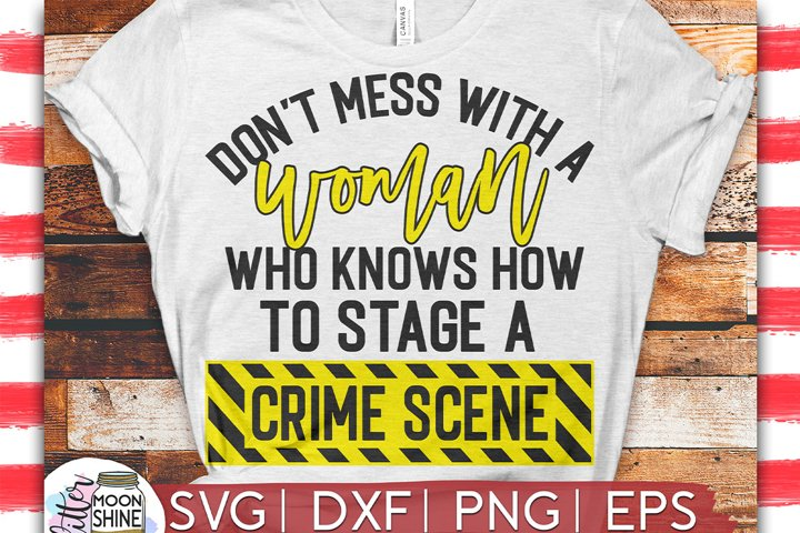 Stage A Crime Scene SVG DXF PNG EPS Cutting Files example