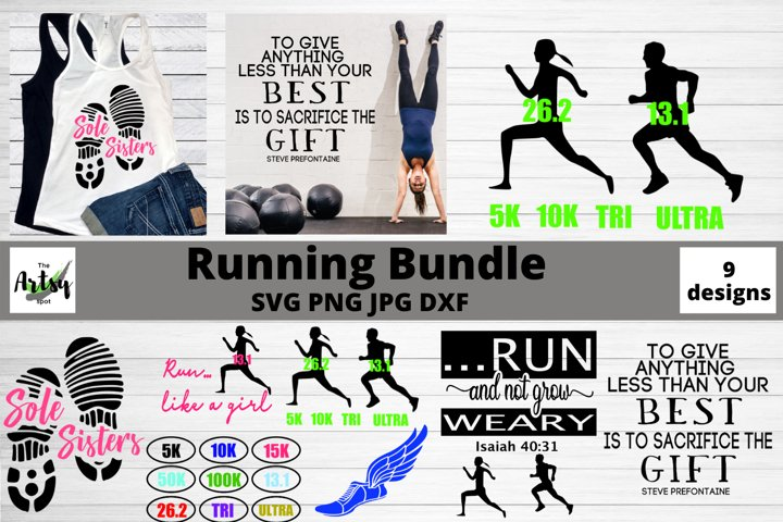 running svg, Runner svg, Running bundle, Running quote svg