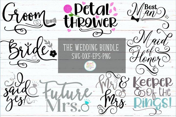 Wedding Bundle Wedding SVG Bundle Engagement SVG Bundle