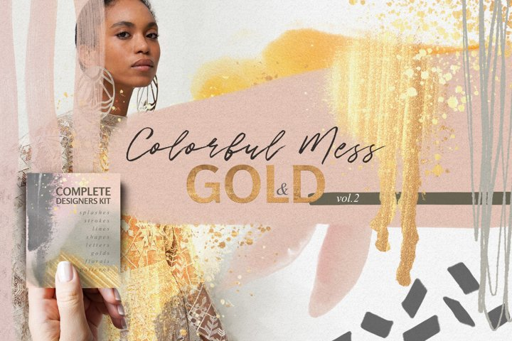 Colorful Mess & Gold Vol.2