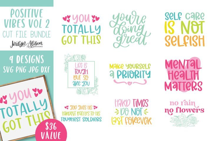 SVG Bundle, Inspirational Quotes Volume Two