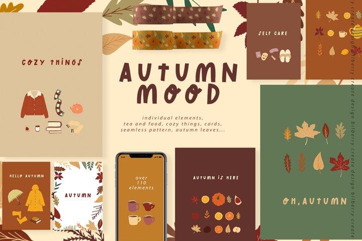 Autumn Mood art set