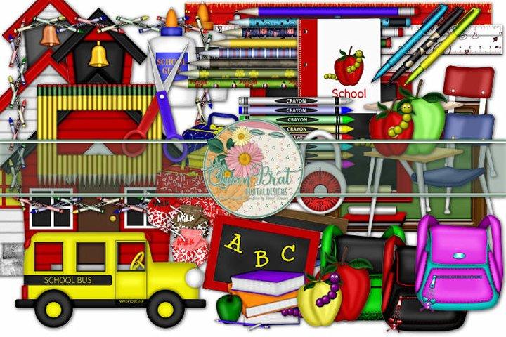 School Supplies Embellishments