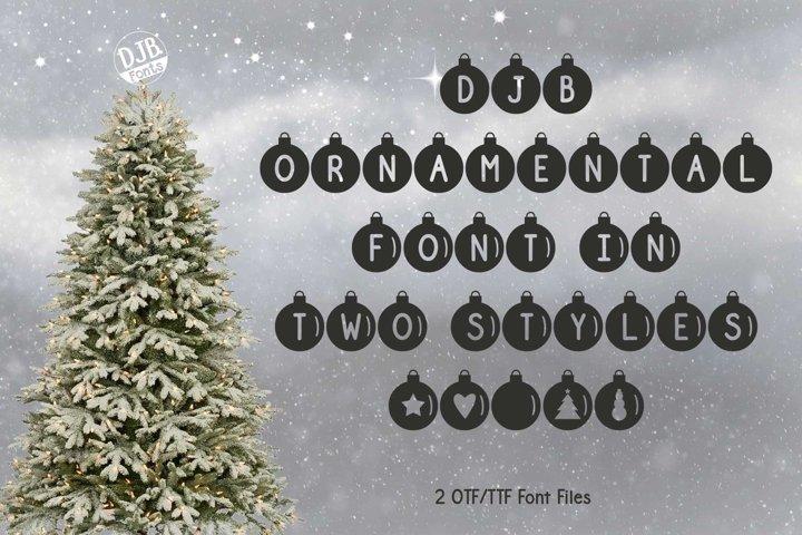 DJB Ornamental Font Duo