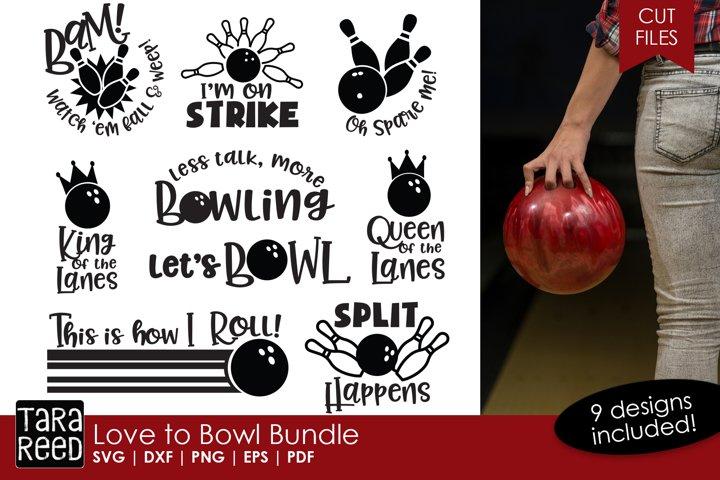 Bowling Bundle 89144 Cut Files Design Bundles