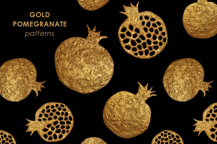 GOLD POMEGRANATE collection