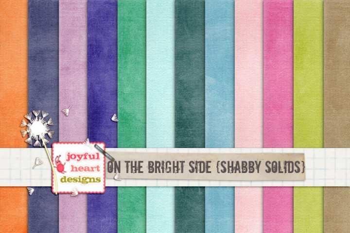 On the Bright Side {shabby solids}
