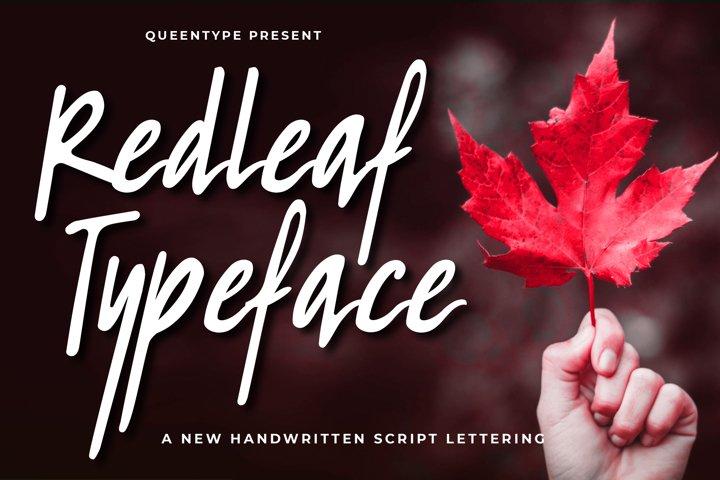 Redleaf Typeface