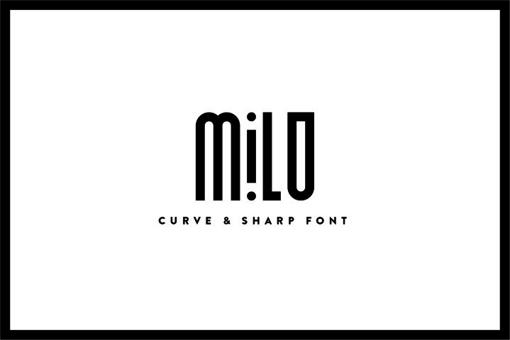 Milo - Font Family