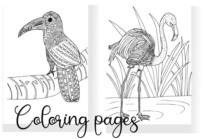 Birds SVG cut file