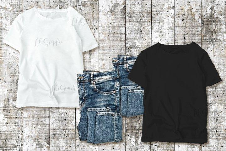 T-shirt tshirt shirt mockup to display print design mock up