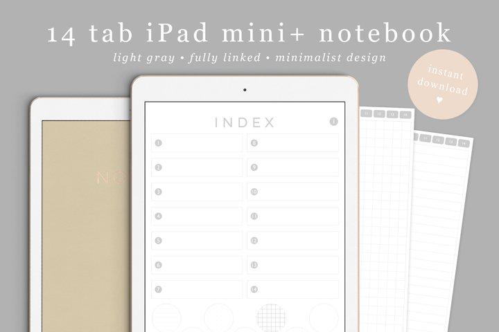 Goodnotes Notebook iPad mini