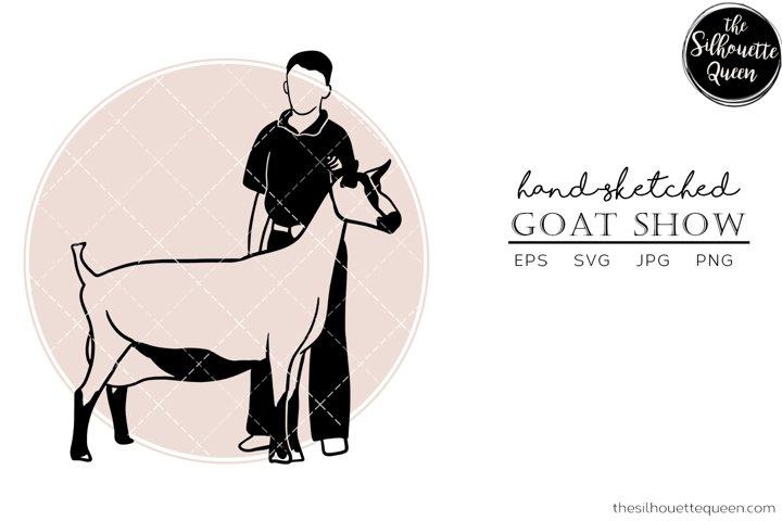 Download Hand Drawn Goat Show Vector Sketch 519974 Svgs Design Bundles