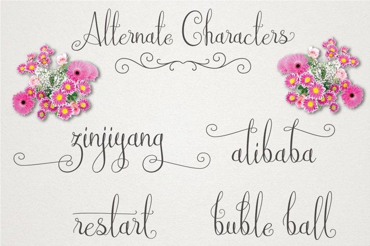 Australian Script - Free Font of The Week Design5