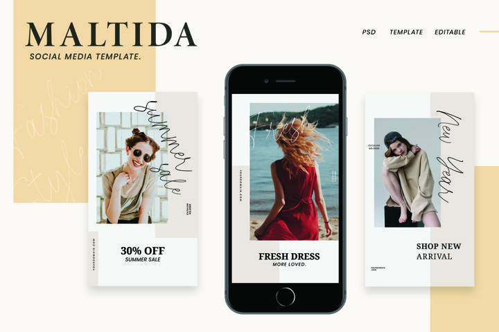 Matilda Instagram Stories Template
