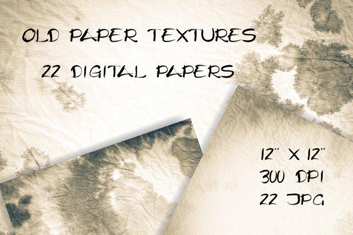 Old paper texture. Vintage digital paper