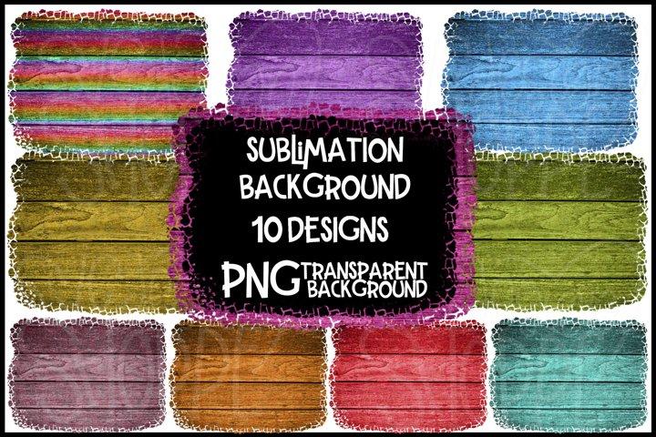 Sublimation, Colorful Wooden Background, Background Bundle