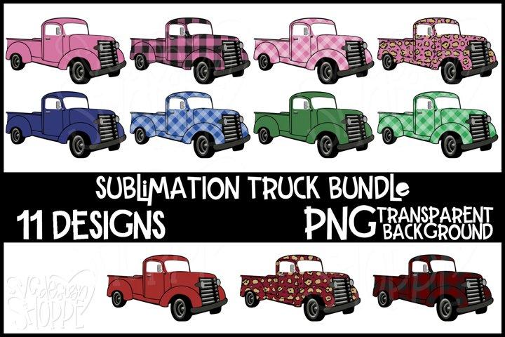 Truck Sublimation Bundle, PNG