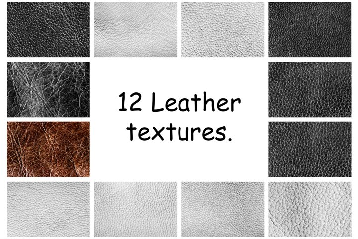 A collection of a leather backgrounds in hi resolution.