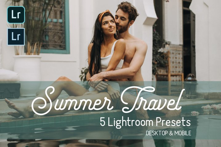 Summer Travel Lightroom Presets. Desktop & Mobile