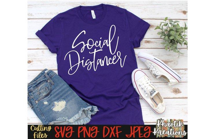 Social Distancer Svg, Social Distancing Svg, Anti Social Svg