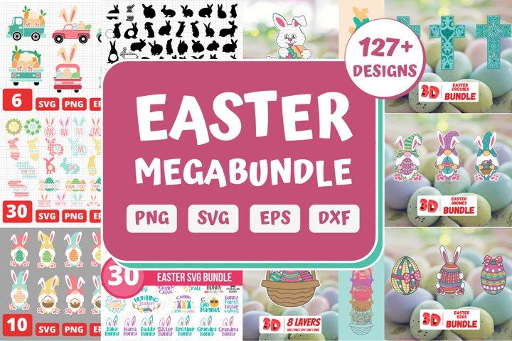 Easter SVG Bundle  Easter Mandala   Easter Bunny