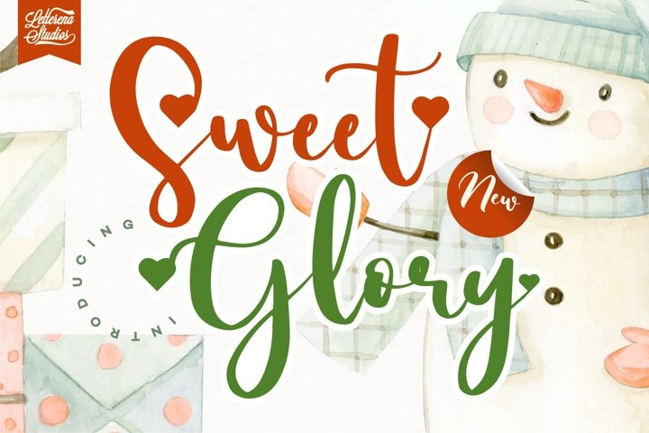 Sweet Glory - Beautiful ScriptFont