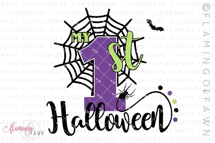 My 1st Halloween svg png