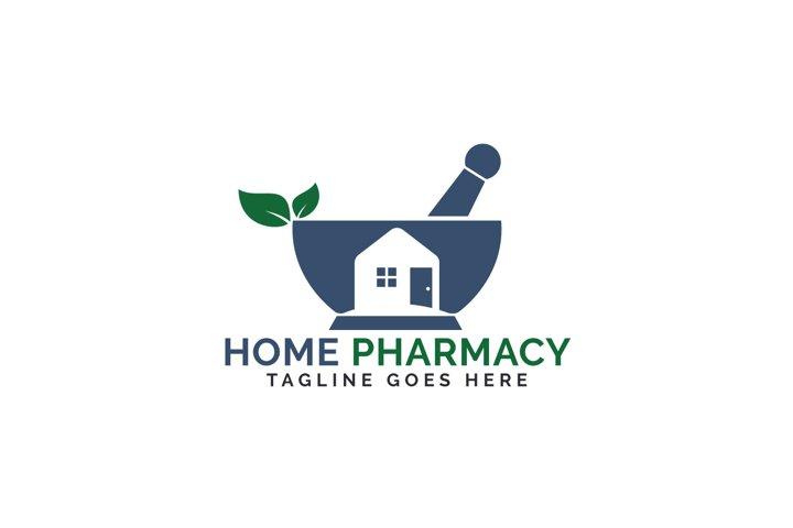 Home Pharmacy Logo Design.