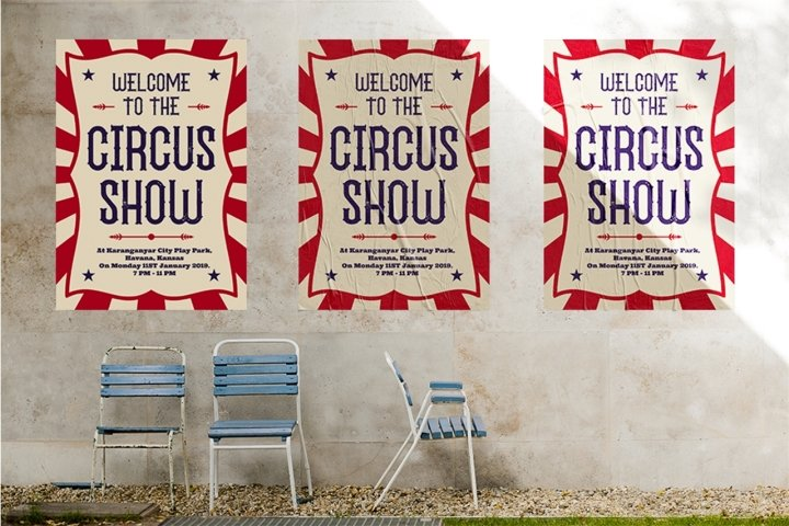 The Circus Show - Free Font Of The Week Design4