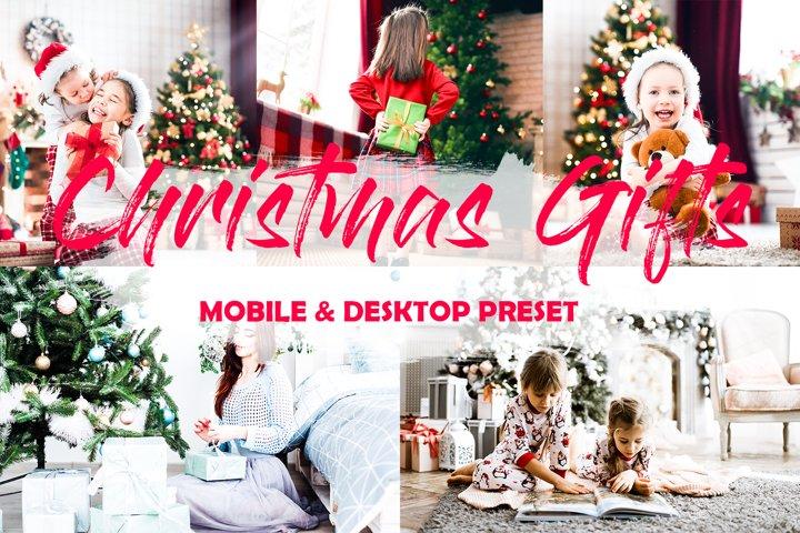4 Mobile Lightroom Presets Christmas Gifts